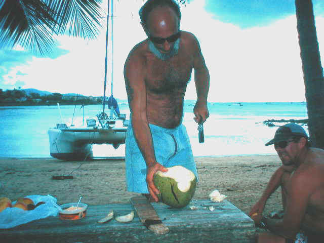 coconut for lunch