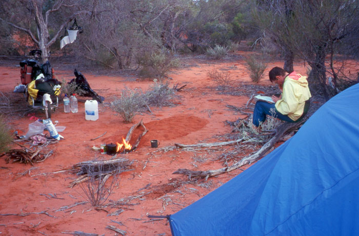 Typical Bush Camp