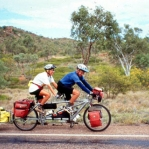 Our road train in outback Queensland