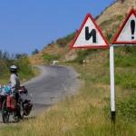Entering the Caucasus.
