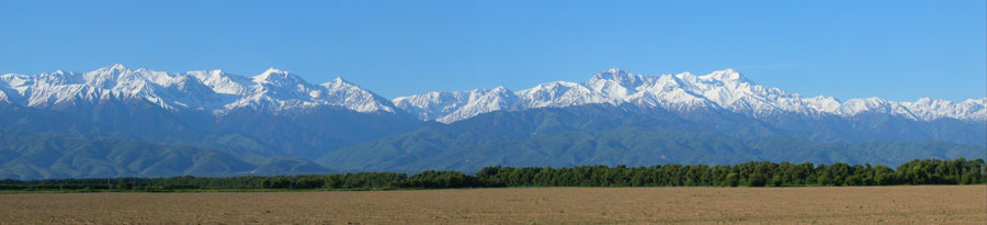 West side of Tian Shan.