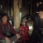 Tibetan Women and Little Girl