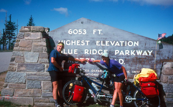 High Point on the Blue Ridge Parkway