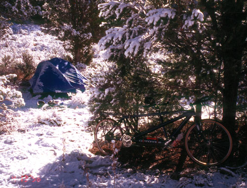 Spring Snow in Utah