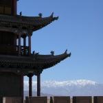 Jiayuguan, at end of Great Wall.