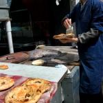 Fresh baked street food.