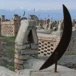 Moslem cemetery.