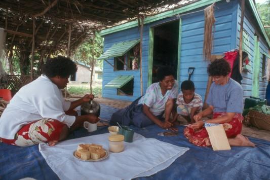 Tea Time in Fiji