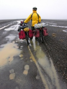 We were the first across the center of Iceland in 2006. Wonder why?