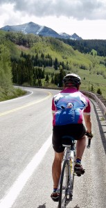 Riding in Bob's Olympic Peninsula Bicyclists Jersey