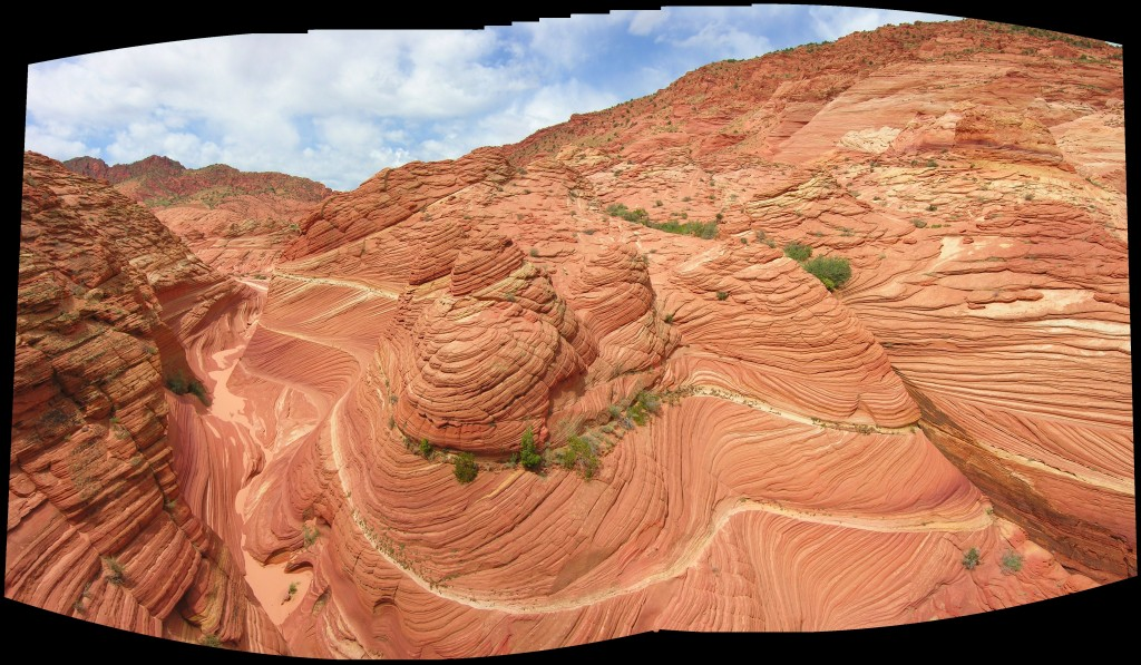 Canyon near the Wave in Coyote Buttes