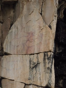 Rock Art at Sacred Site