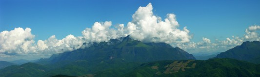 Mountain Panorama of Laos