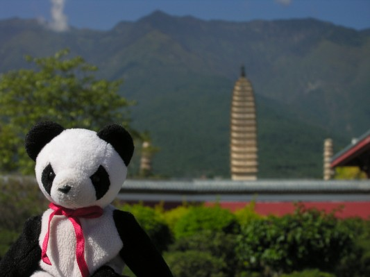 LuckyGoes Tourist at the Three Pagodas
