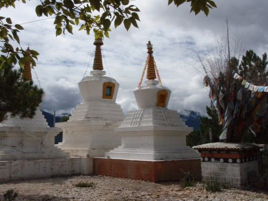Stupas in China