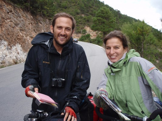 David and Marie from Spain