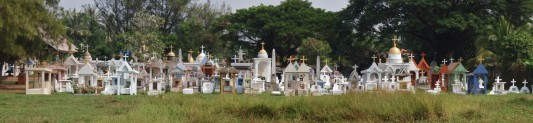Cemetery in Laos