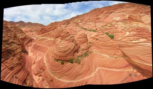 Canyon Near The Wave in N. AZ