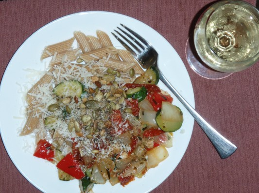 Bright Pasta Meal