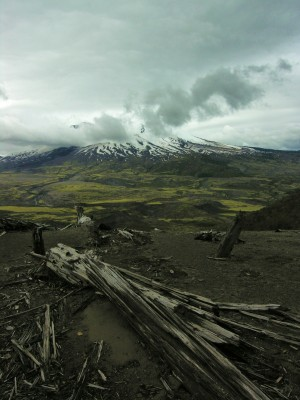 Mt. St. Helens 30 years after the blast.