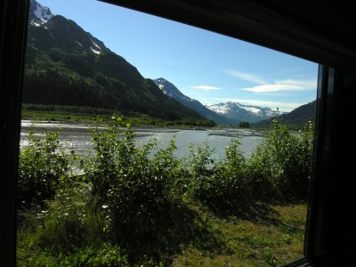 Kenai Fjords National Park, Exit Glacier and some Sunshine