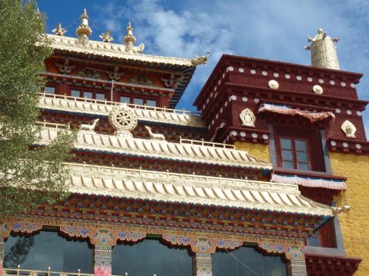 Monastery in Litang Tibet
