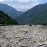 Caucasus river.