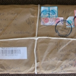Sending a package from Almaty.