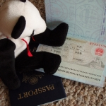 Lucky views China visa