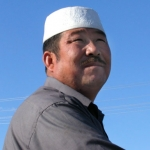 Uyghur man.