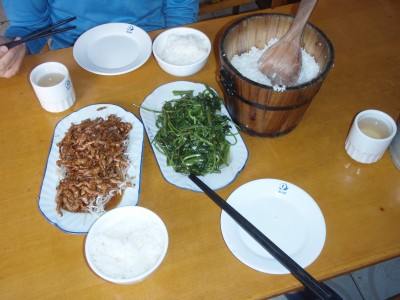 Lunch in Ya Jaing