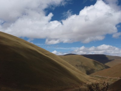 Sun on the Tibetan Plateau