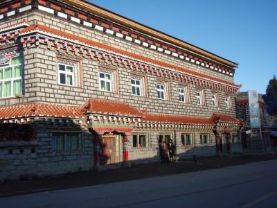 Nice Tibetan Roadhouse on freezing morning