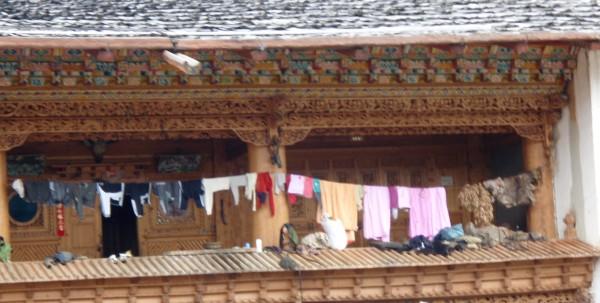 Clothsline in Shangri-la