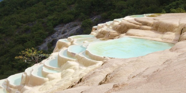 Travertine Pools of Bai Shui Tai
