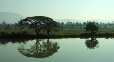 Morning in Laos