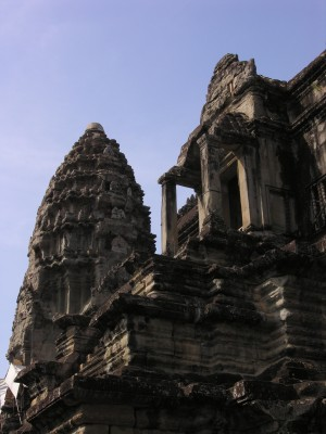 A Central Pyramid of Anckor Wat
