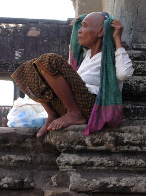 Woman of the Temple Angkor Wat
