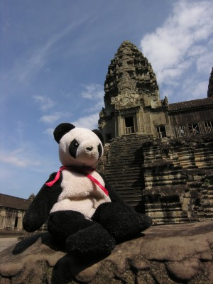 Lucky from Angkor Wat