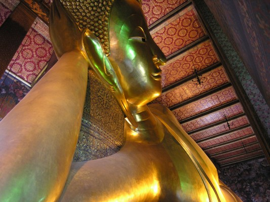 World's Largest Reclining Buddah