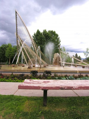 Anchorage Fountain