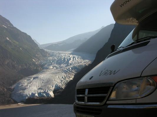 Bear Glacier near Stewart, BC