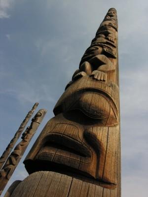 Totem Poles, BC, Canada