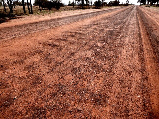Not so good road